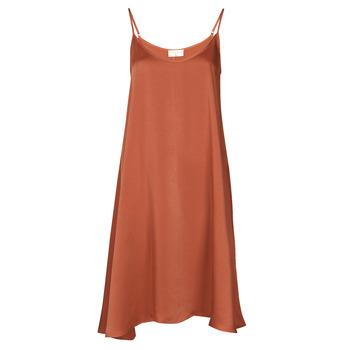 Textil Ženy Krátké šaty Moony Mood FANETTI Hnědá