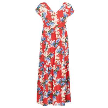 Textil Ženy Společenské šaty Betty London MALIN Červená / Bílá / Modrá