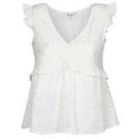Textil Ženy Halenky / Blůzy Betty London MOUDINE Bílá / Zlatá