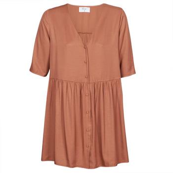 Textil Ženy Krátké šaty Betty London MOUDENE Hnědá