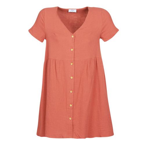 Textil Ženy Krátké šaty Betty London MARDI Terakotová