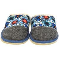 Boty Ženy Papuče John-C Dámske modré papuče GRETA modrá