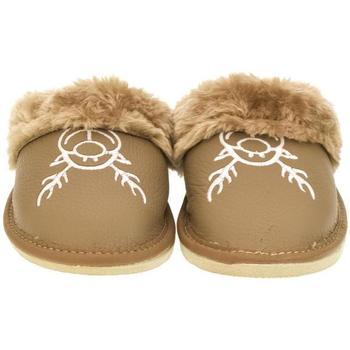 Boty Ženy Papuče John-C Dámske hnedé papuče JANA ťavia