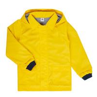 Textil Děti Parky Petit Bateau FATAH Žlutá