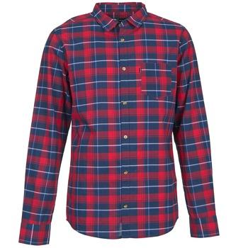 Textil Muži Košile s dlouhymi rukávy Rip Curl CONNECTION Červená / Modrá