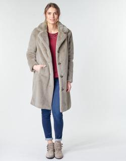 Textil Ženy Kabáty Oakwood CYBER Šedobéžová