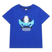 Textil Dívčí Trička s krátkým rukávem Esprit ENORA Modrá