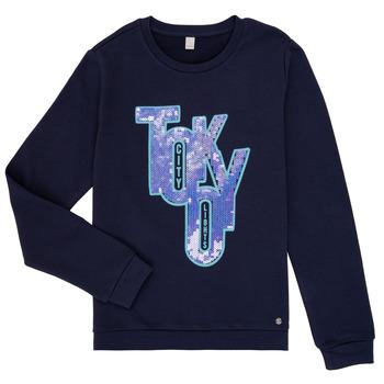 Textil Dívčí Mikiny Esprit ERIN Tmavě modrá