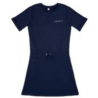 Textil Dívčí Krátké šaty Esprit EDEN Tmavě modrá