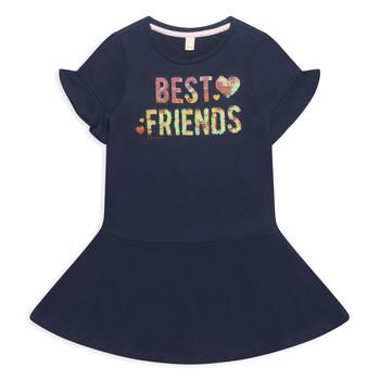 Textil Dívčí Krátké šaty Esprit EDINA Tmavě modrá