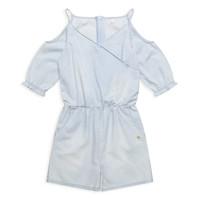 Textil Dívčí Overaly / Kalhoty s laclem Esprit FRANCESCO Modrá