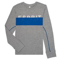 Textil Chlapecké Trička s dlouhými rukávy Esprit FABIOLA Šedá