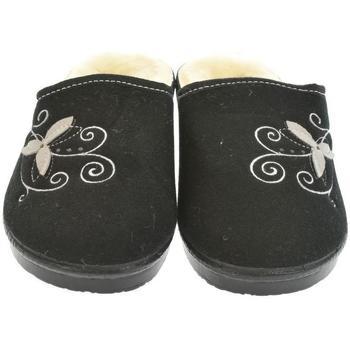 Boty Ženy Papuče Mjartan Dámske papuče  LISA 4 čierna