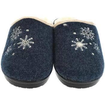 Boty Ženy Papuče Mjartan Dámske papuče  LISA 3 tmavomodrá