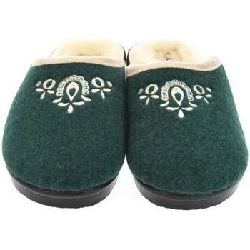 Boty Ženy Papuče Mjartan Dámske papuče  LIDA 3 tmavozelená