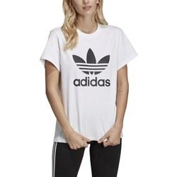 Textil Ženy Trička s krátkým rukávem adidas Originals Originals Boyfriend Bílé