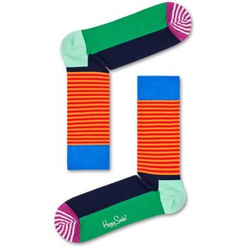 Textilní doplňky Ponožky Happy Socks Christmas cracker holly gift box Vícebarevné