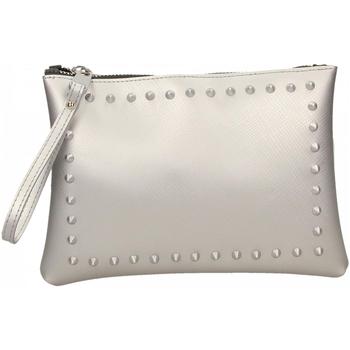 Taška Ženy Malé kabelky Gum SATIN STUDS 359-argento