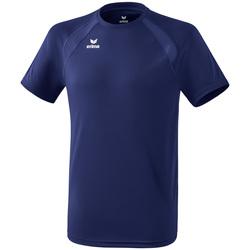 Textil Děti Trička s krátkým rukávem Erima T-shirt enfant  Performance bleu