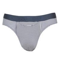 Spodní prádlo  Muži Slipy Hom SIMON MINI BRIEF Tmavě modrá / Bílá