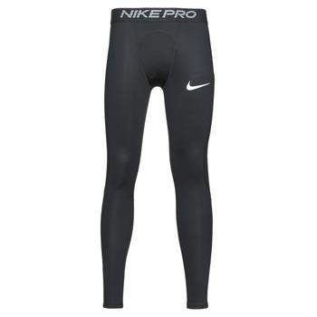 Textil Muži Legíny Nike M NP TGHT Černá / Bílá