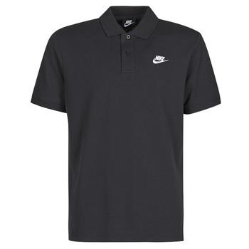 Textil Muži Polo s krátkými rukávy Nike M NSW CE POLO MATCHUP PQ Černá / Bílá