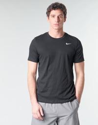 Textil Muži Trička s krátkým rukávem Nike M NK DRY TEE DFC CREW SOLID Černá / Bílá