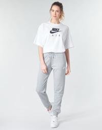 Textil Ženy Teplákové kalhoty Nike W NSW ESSNTL PANT REG FLC Šedá / Bílá