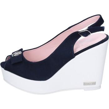 Boty Ženy Sandály Lancetti sandali tela Blu