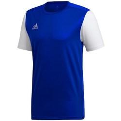Textil Muži Trička s krátkým rukávem adidas Originals Estro 19 Bílé,Tmavomodré