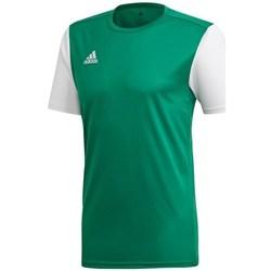 Textil Muži Trička s krátkým rukávem adidas Originals Estro 19 Bílé,Zelené