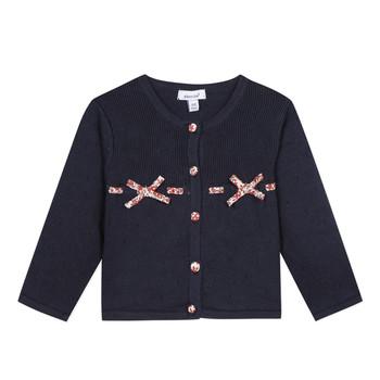 Textil Dívčí Svetry / Svetry se zapínáním Absorba NOLI Tmavě modrá