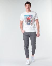 Textil Muži Cargo trousers  Jack & Jones JJIPAUL Šedá