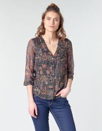 Textil Ženy Halenky / Blůzy Vero Moda VMGLAMMY Tmavě modrá