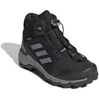 Boty Děti Zimní boty adidas Originals Terrex Mid Gtx Černé, Šedé