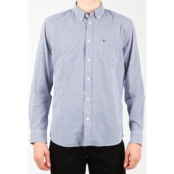 Textil Muži Košile s dlouhymi rukávy Wrangler 1 PKT Shirt W5929M8DF blue, white