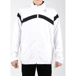 Textil Muži Teplákové bundy K-Swiss Accomplish WVN JCKT 100627-102 white, black
