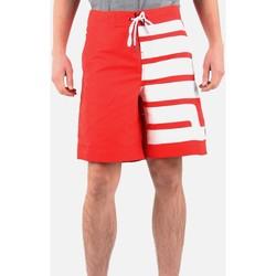 Textil Muži Kraťasy / Bermudy Puma 554311-02 red, white
