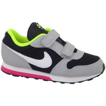 Boty Děti Běžecké / Krosové boty Nike MD Runner 2 TD Bledě zelené,Černé,Šedé