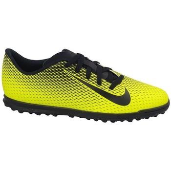 Boty Děti Fotbal Nike JR Bravatax II TF Černé, Žluté