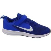 Boty Děti Šněrovací polobotky  & Šněrovací společenská obuv Nike Downshifter 9 Psv Modré