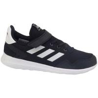 Boty Děti Nízké tenisky adidas Originals Archivo C Bílé,Černé
