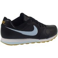 Boty Děti Šněrovací polobotky  & Šněrovací společenská obuv Nike MD Runner 2 Flt Černé