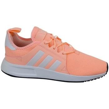 Boty Dívčí Nízké tenisky adidas Originals X Plr C Šedé, Oranžové