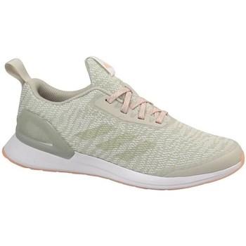 Boty Děti Běžecké / Krosové boty adidas Originals Rapidarun X Knit J Béžové, Olivové