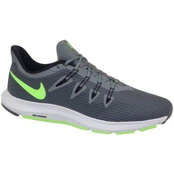 Boty Muži Běžecké / Krosové boty Nike Quest Bledě zelené,Bílé,Šedé