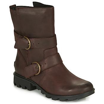 Boty Ženy Zimní boty Sorel PHOENIX MOTO Hnědá