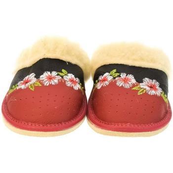 Boty Ženy Papuče John-C Dámske červené papuče ILLA červená