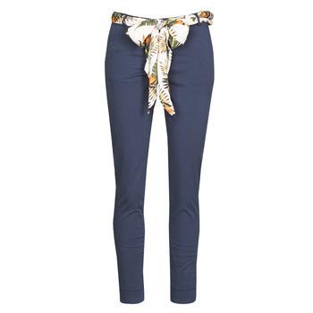 Textil Ženy Kapsáčové kalhoty Betty London MIRABINE Tmavě modrá