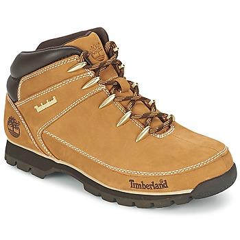 Boty Muži Kotníkové boty Timberland EURO SPRINT HIKER Béžová
